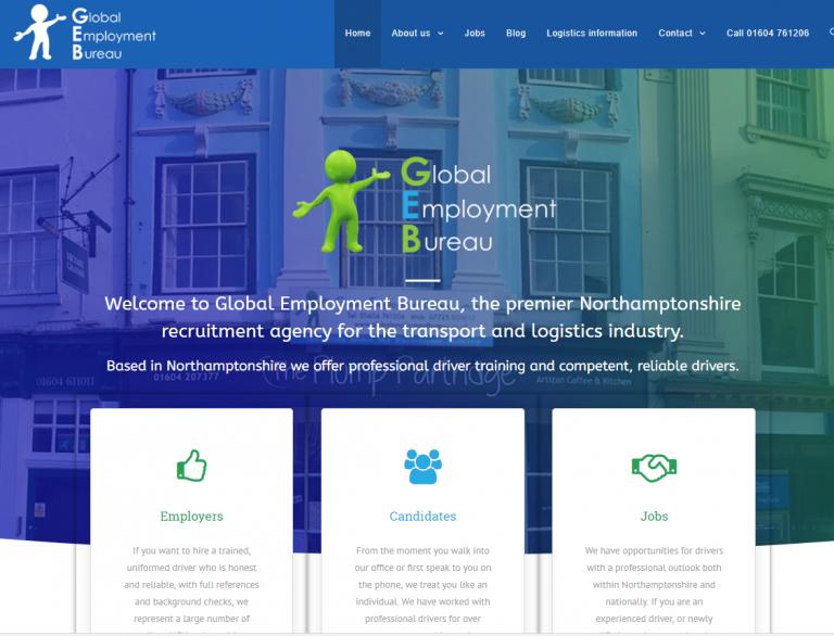 Global Employment Bureau launch their new website !
