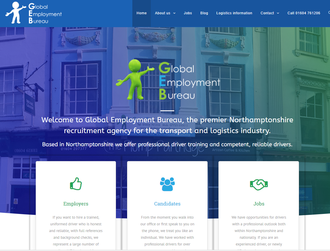 Global Employment Bureau launch their new website !