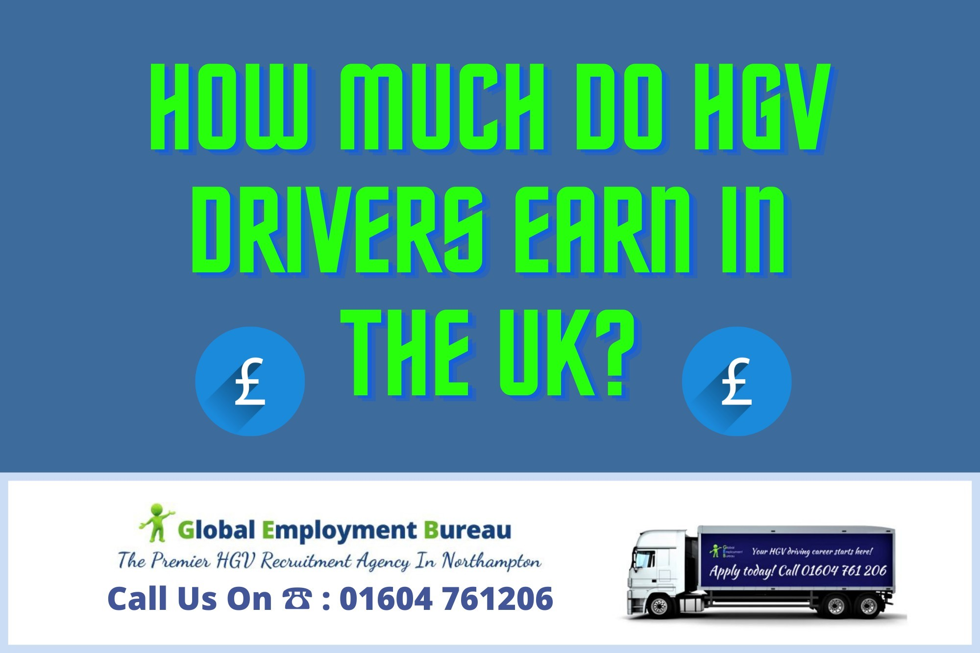 You are currently viewing HGV Driver Salary | How Much Do HGV Drivers Earn in the UK?
