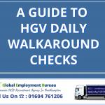 A Guide to HGV Daily Walkaround Checks