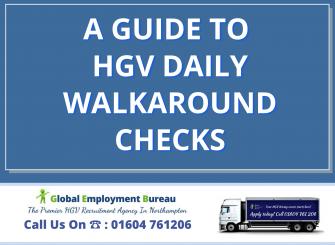 A helpful Guide to HGV Daily Walkaround Checks