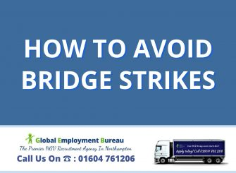 HGV driving tips on how to avoid bridge strike accidents