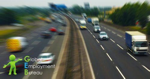 motorway hgv driving